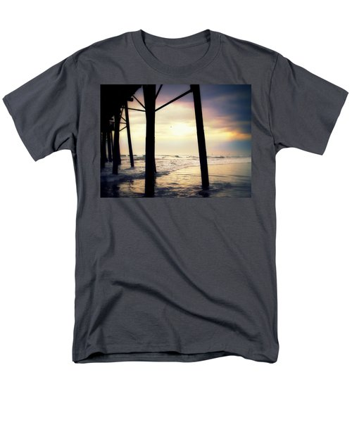 Men's T-Shirt  (Regular Fit) featuring the photograph Oceanside - Late Afternoon by Glenn McCarthy