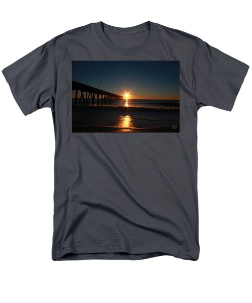 Men's T-Shirt  (Regular Fit) featuring the photograph Oceanview Sunrise by Geri Glavis