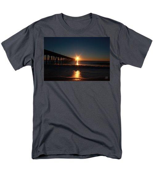 Oceanview Sunrise Men's T-Shirt  (Regular Fit) by Geri Glavis