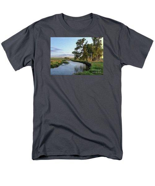 Ocheyedan Evening Men's T-Shirt  (Regular Fit) by Bruce Morrison