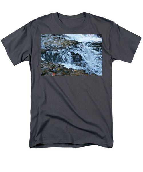 Ocqueoc Falls_9542 Men's T-Shirt  (Regular Fit) by Michael Peychich