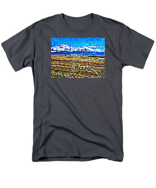 October Clouds Over Spanish Peaks Men's T-Shirt  (Regular Fit) by Anastasia Savage Ealy