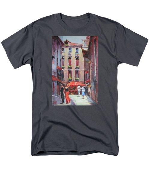 Oil Msc 043 Men's T-Shirt  (Regular Fit) by Mario Sergio Calzi