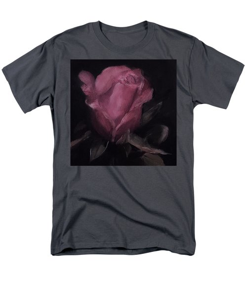 Oil Rose Painting Men's T-Shirt  (Regular Fit) by Michele Carter