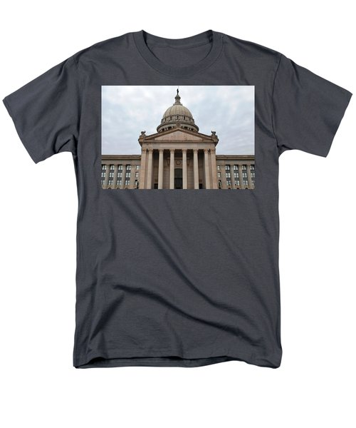 Oklahoma State Capitol - Front View Men's T-Shirt  (Regular Fit) by Matt Harang