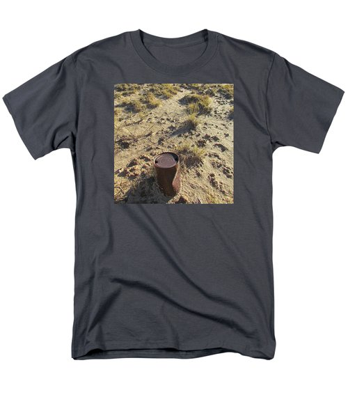 Men's T-Shirt  (Regular Fit) featuring the photograph Old Beer Can by Brenda Pressnall