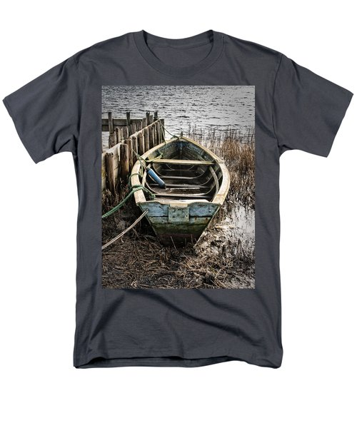 Old Boat Men's T-Shirt  (Regular Fit) by Mike Santis