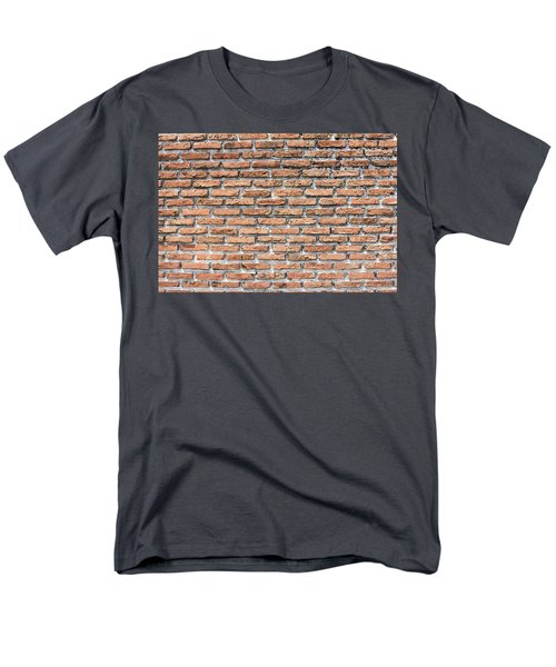 Men's T-Shirt  (Regular Fit) featuring the photograph Old Brick Wall by Jingjits Photography