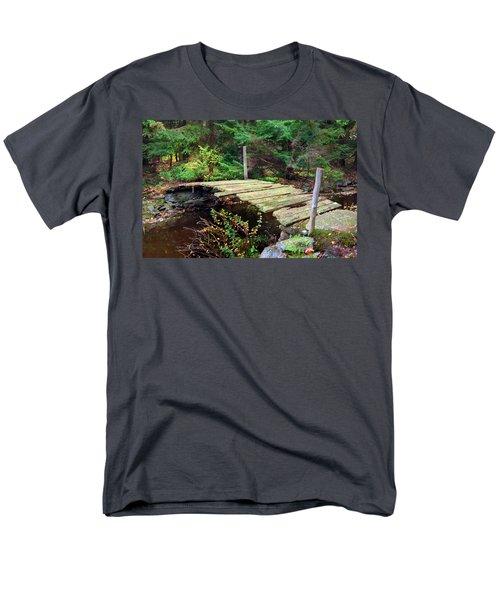 Old Bridge Men's T-Shirt  (Regular Fit) by Francesa Miller