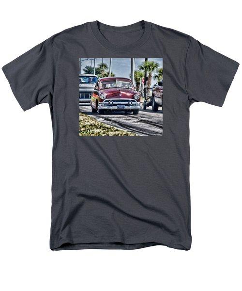 Old Car 1 Men's T-Shirt  (Regular Fit) by Cathy Jourdan