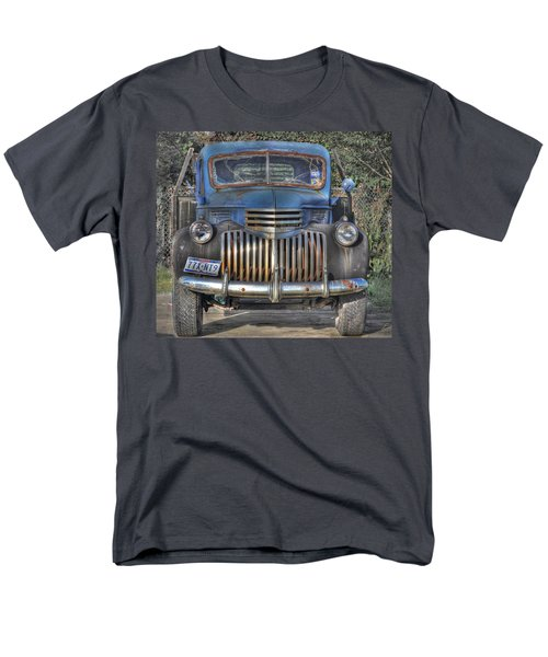 Men's T-Shirt  (Regular Fit) featuring the photograph Old Chevy Truck by Savannah Gibbs