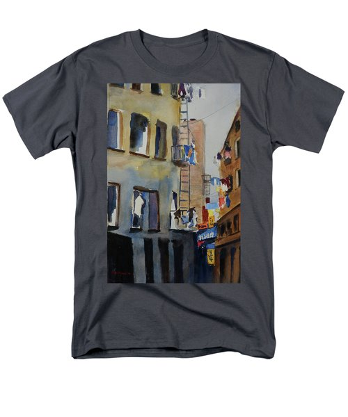 Old Chinatown Lane Men's T-Shirt  (Regular Fit) by Tom Simmons