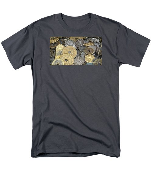 Old Chinese Coins And Money Men's T-Shirt  (Regular Fit) by Yali Shi