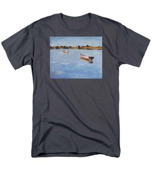 Old Friends Men's T-Shirt  (Regular Fit) by Trina Teele