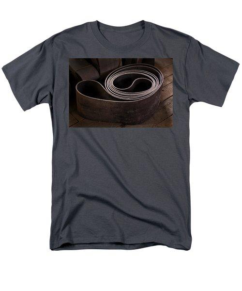Old Machine Belt Men's T-Shirt  (Regular Fit) by Tom Singleton