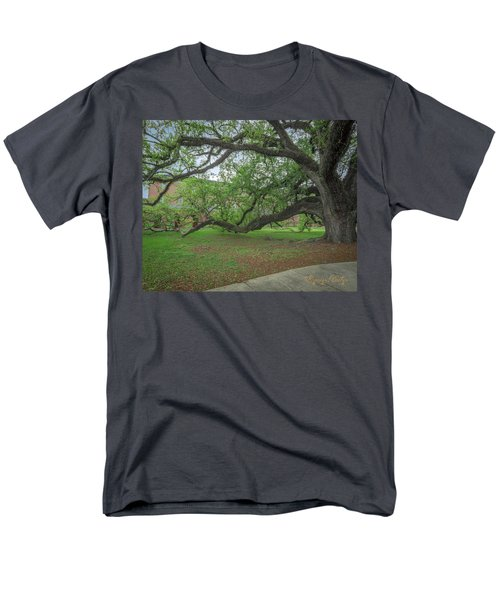 Men's T-Shirt  (Regular Fit) featuring the photograph Old Oak Tree by Gregory Daley  PPSA