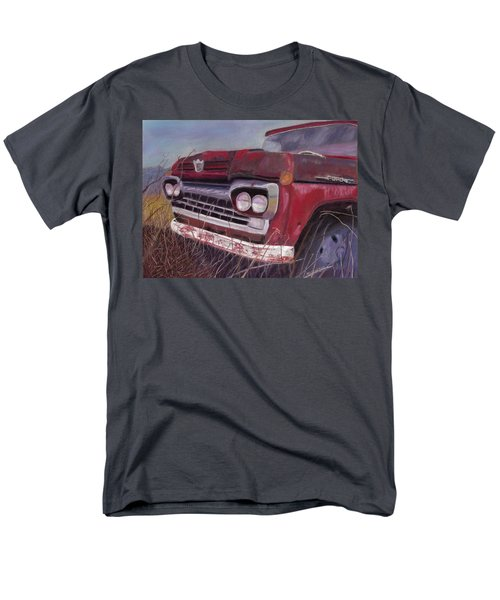 Men's T-Shirt  (Regular Fit) featuring the painting Old Red by Arlene Crafton