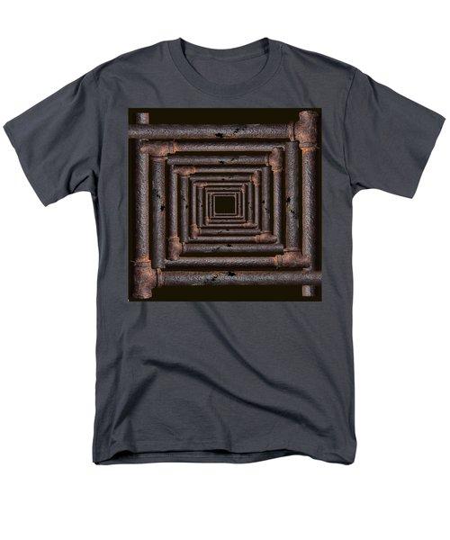 Old Rusty Pipes Men's T-Shirt  (Regular Fit) by Viktor Savchenko