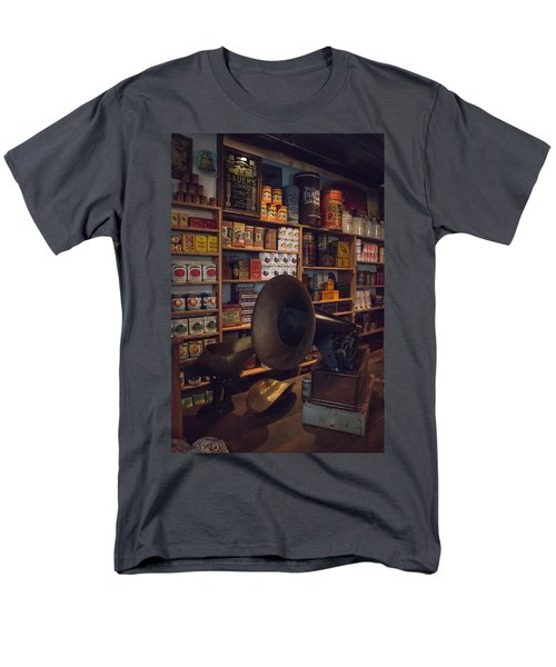 Old Shopping Days Men's T-Shirt  (Regular Fit) by Kathleen Scanlan