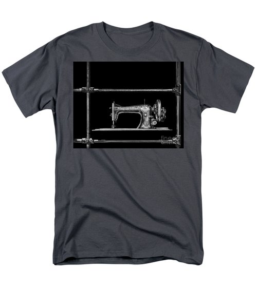 Old Singer Sewing Machine Men's T-Shirt  (Regular Fit) by Walt Foegelle