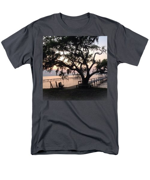 Old Tree At The Dock Men's T-Shirt  (Regular Fit) by Christin Brodie