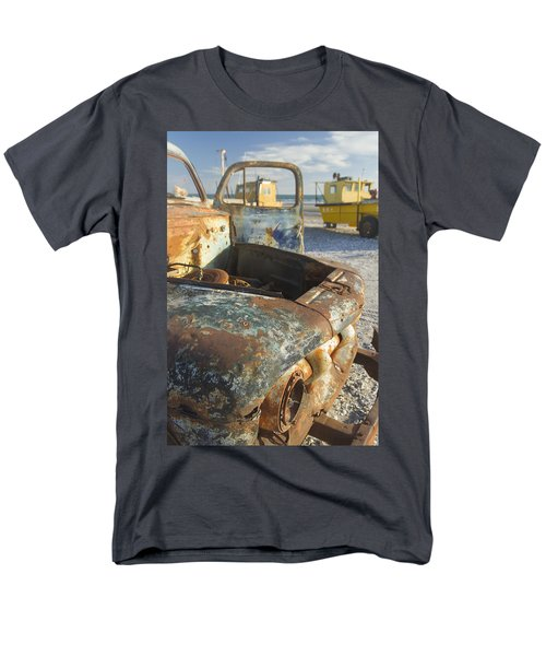 Old Truck In The Beach Men's T-Shirt  (Regular Fit) by Silvia Bruno