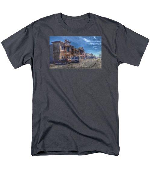 Men's T-Shirt  (Regular Fit) featuring the photograph Old Western Town by Deborah Klubertanz