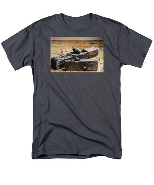 Old Wooden Planes Men's T-Shirt  (Regular Fit) by Trevor Chriss
