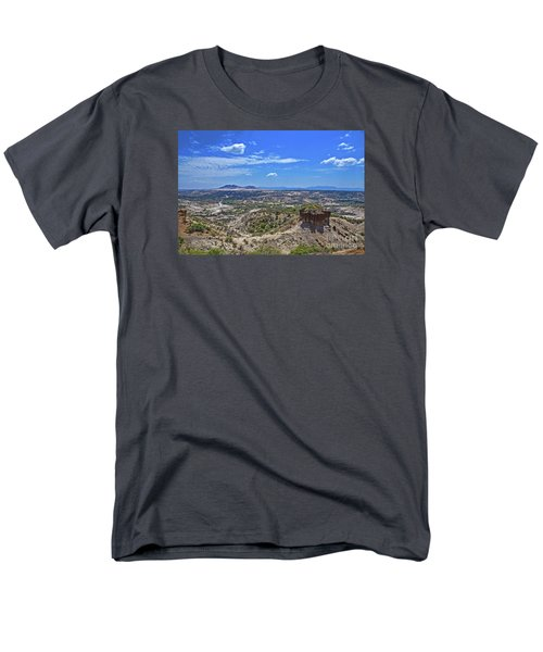 Men's T-Shirt  (Regular Fit) featuring the photograph Olduvai Gorge - The Cradle Of Mankind by Pravine Chester