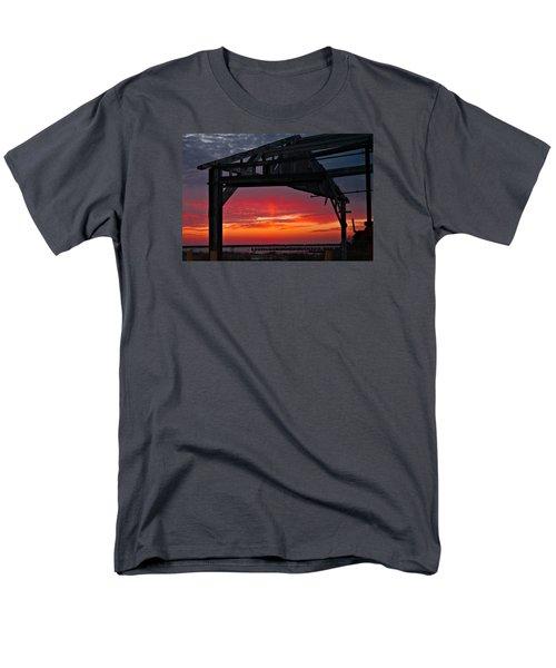 Ole Shipyard Framing Men's T-Shirt  (Regular Fit) by Laura Ragland