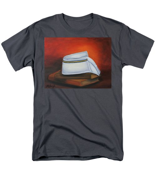 Men's T-Shirt  (Regular Fit) featuring the painting Olivet Nazerene University  by Marlyn Boyd