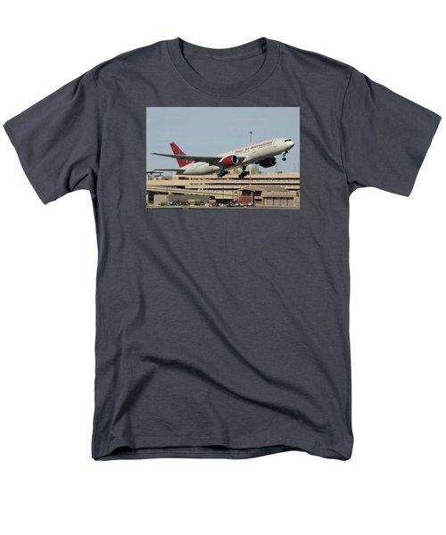 Omni Air International Boeing 777-222 N927ax Phoenix Sky Harbor January 3 2015 Men's T-Shirt  (Regular Fit) by Brian Lockett