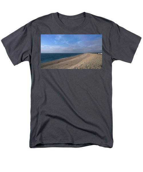 Men's T-Shirt  (Regular Fit) featuring the photograph On Chesil Beach by Anne Kotan