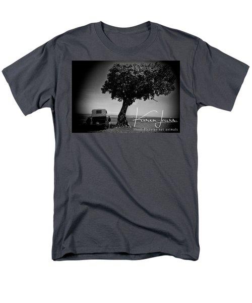 Men's T-Shirt  (Regular Fit) featuring the photograph On Safari by Karen Lewis