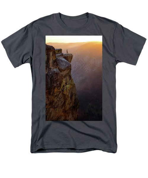 On The Edge Men's T-Shirt  (Regular Fit) by Nicki Frates