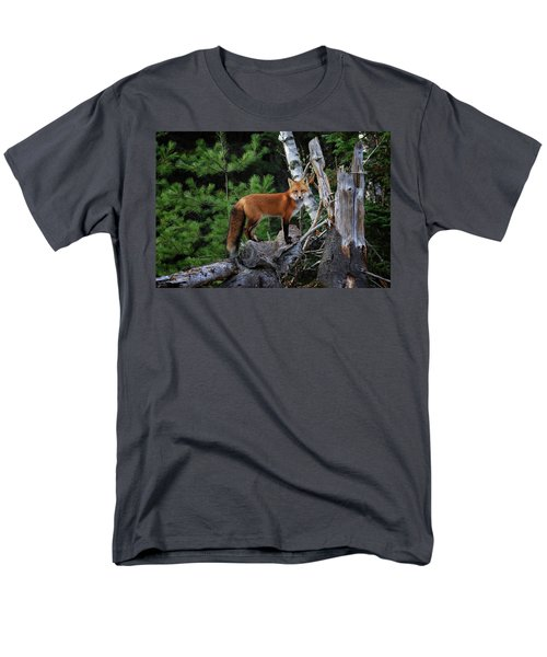 On The Lookout Men's T-Shirt  (Regular Fit) by Gary Hall