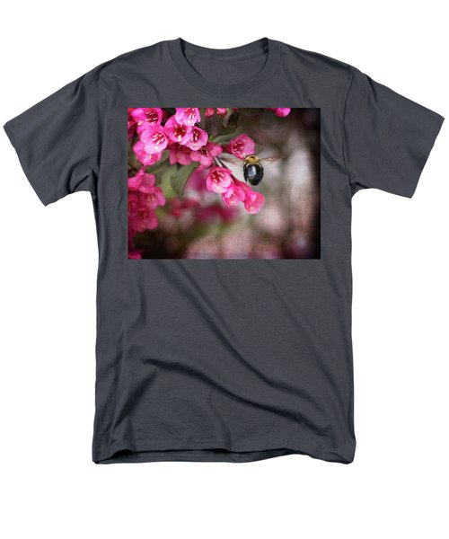 On Wine And Roses Weigela - 2 Men's T-Shirt  (Regular Fit) by Debra Martz