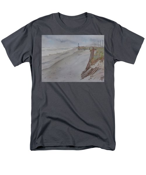 Once There Was A Lighthouse Men's T-Shirt  (Regular Fit) by Joel Deutsch