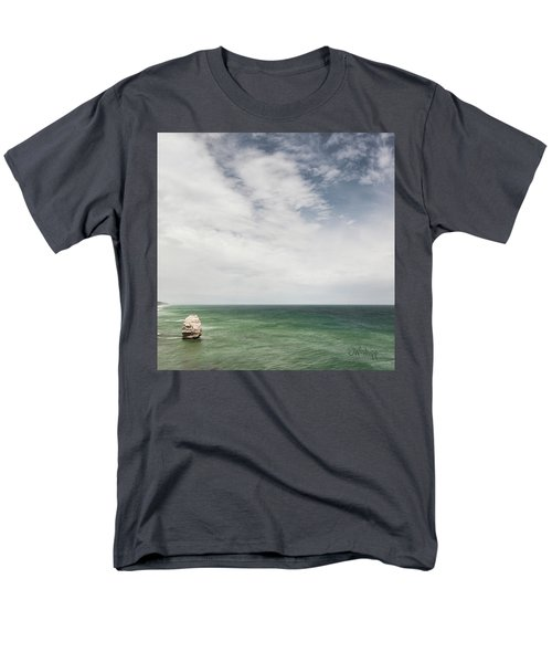 Men's T-Shirt  (Regular Fit) featuring the photograph One Apostle by Joseph Westrupp