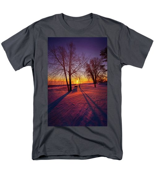 Men's T-Shirt  (Regular Fit) featuring the photograph One Day Closer by Phil Koch