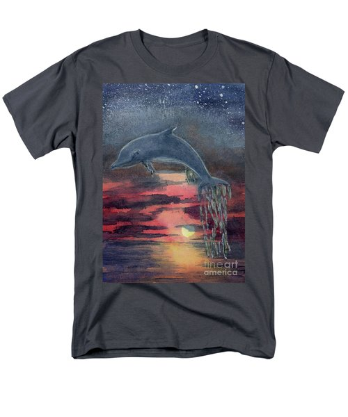One Last Jump Men's T-Shirt  (Regular Fit) by Randy Sprout