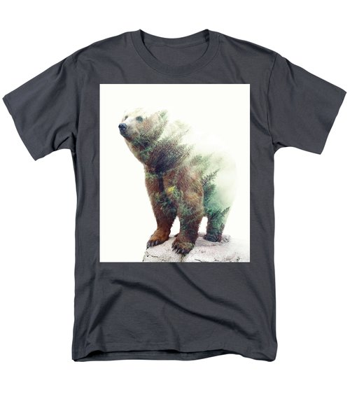 One With Nature V2 Men's T-Shirt  (Regular Fit) by Uma Gokhale