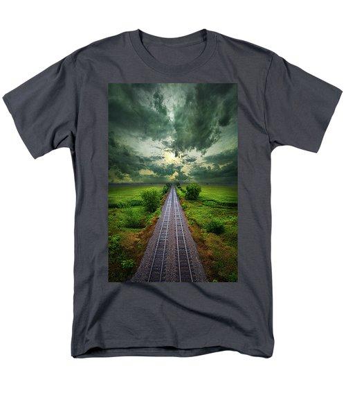 Onward Men's T-Shirt  (Regular Fit) by Phil Koch