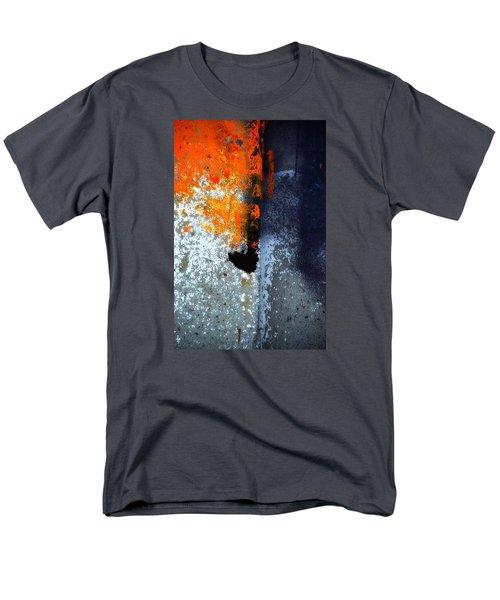 Orange Men's T-Shirt  (Regular Fit) by Newel Hunter