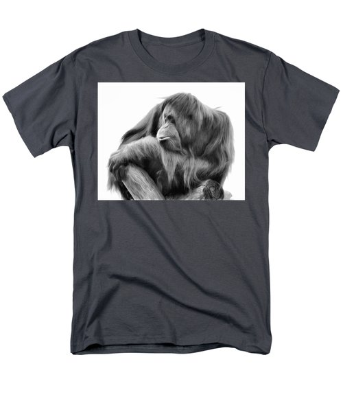 Orangutan Men's T-Shirt  (Regular Fit) by Lana Trussell