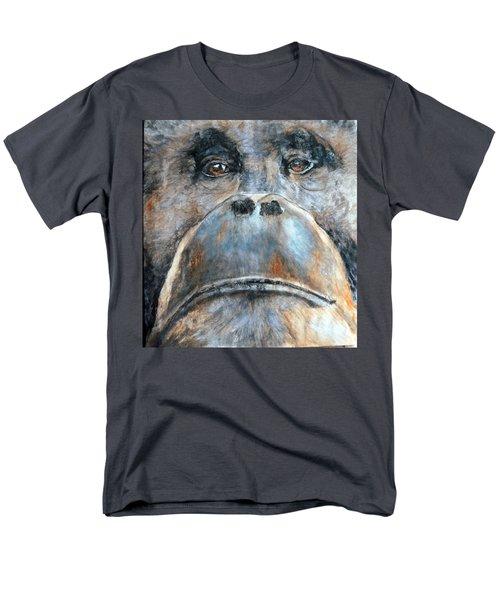 Orangutan Men's T-Shirt  (Regular Fit) by Maureen Murphy
