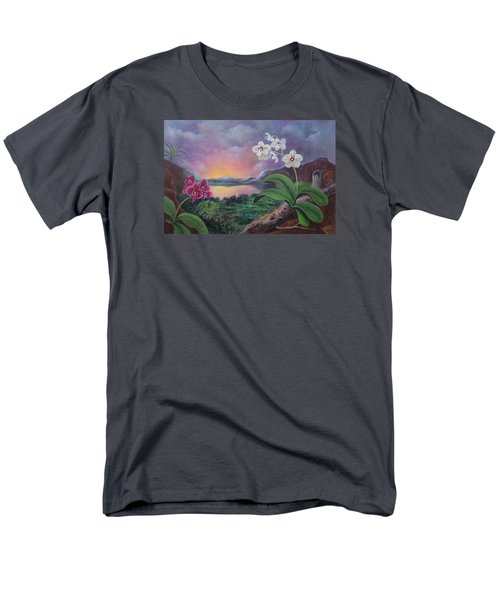 Orchids And Mystery Men's T-Shirt  (Regular Fit)