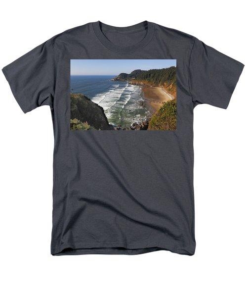 Oregon Coast No 1 Men's T-Shirt  (Regular Fit) by Belinda Greb