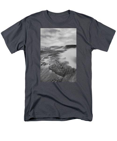 Men's T-Shirt  (Regular Fit) featuring the photograph Oregon Dune Wasteland 2 by Ryan Manuel