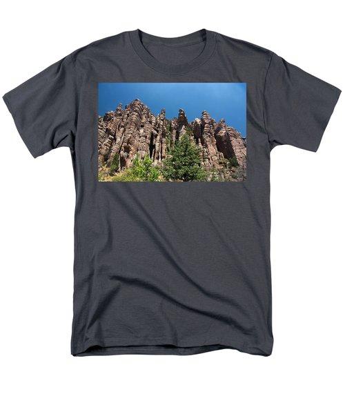 Men's T-Shirt  (Regular Fit) featuring the photograph Organ Pipes by Joe Kozlowski